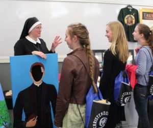 A good vocation match is on the mind of sisters and other religious, such as those here who gathered at the IRL's 2017 National Meeting in Mundelein, IL.