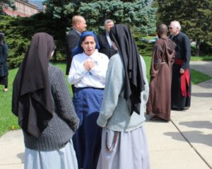 Vocations placement is on the mind of sisters and other religious.